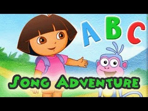 ABC Song | ABC Songs for Children - Dora the Explorer Alphabet Game