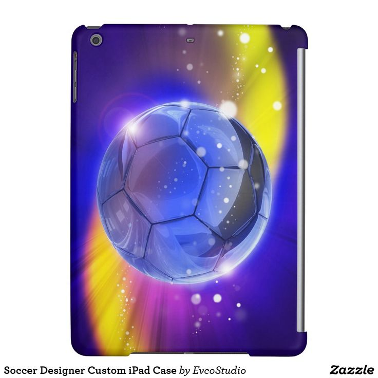 Soccer Designer Custom iPad Case