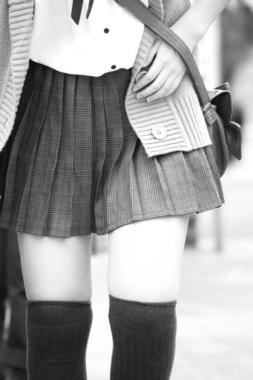 school girl outfit via tumblr
