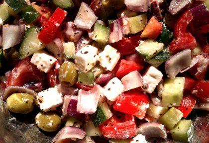 Eredeti görög saláta | NOSALTY – receptek képekkel
