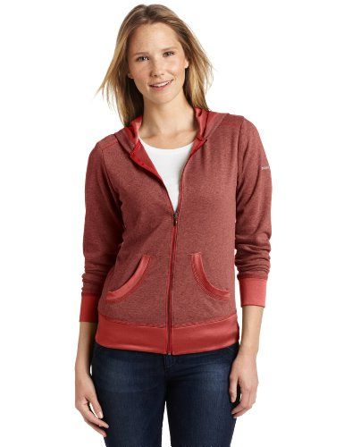 Columbia Women's Heather Honey Hoodie, Red Coral, X-Large Omni-Wick. Imported.  #Columbia #Apparel