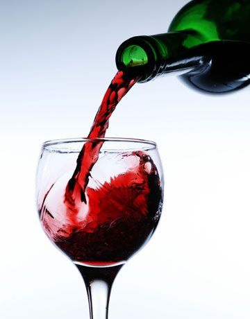 A glass of red wine can sometimes be the perfect end of the day
