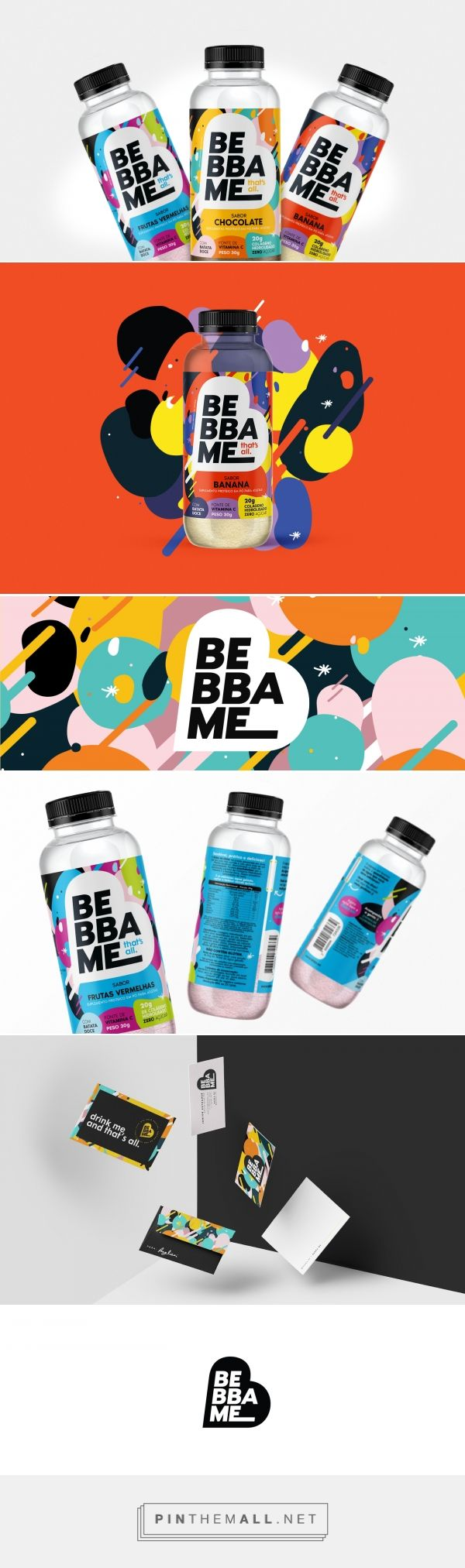 BEBBA ME beverage packaging design by ChiapaDesign - http://www.packagingoftheworld.com/2017/12/bebba-me.html