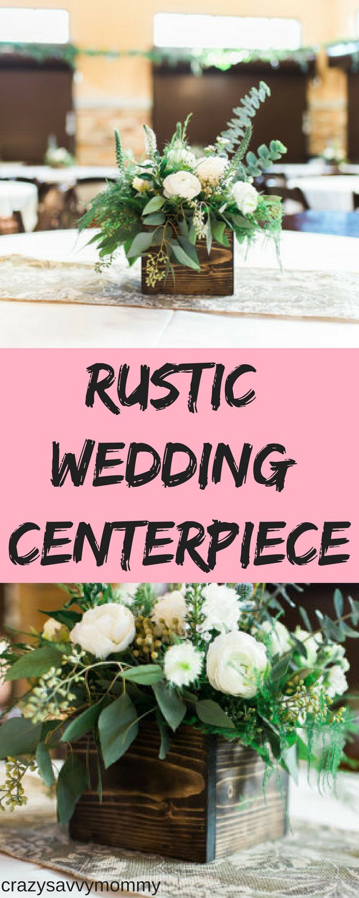 RUSTIC WEDDING Centerpiece. Reclaimed wood planter box centerpiece. This would look great for your wedding centerpieces! Just add flowers, pine cones, or any other decorations. This would also look great on a table or book shelf. Click the link to get it