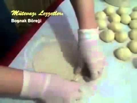 Boşnak Böreği Yemek Tarifi - YouTube