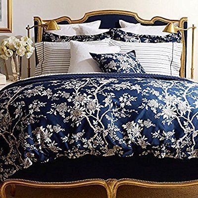 Amazon Com Ralph Lauren Deauville Floral Blossom Queen Comforter
