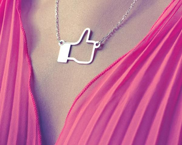 Facebook Like Pendant - I need to buy this for a lot of people that like everything on facebook - good lord people!