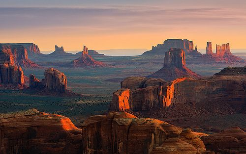 Hunts Mesa - Monument Valley (by ~ Floydian ~