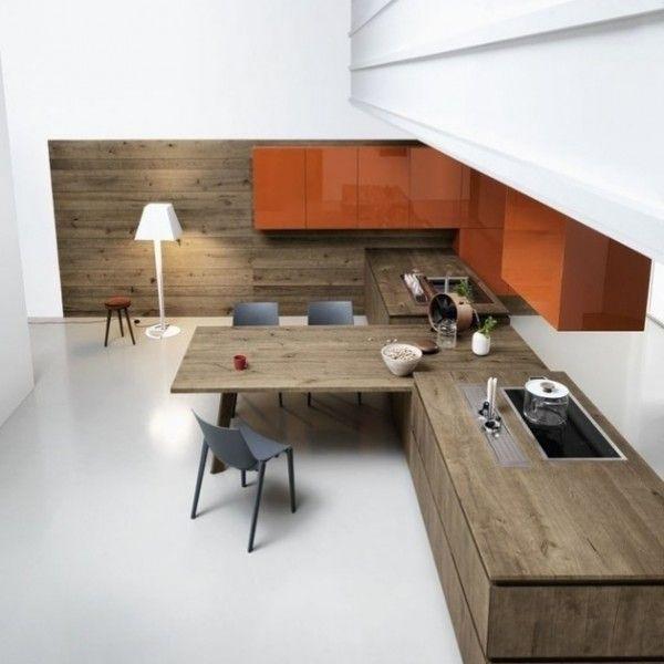 Der Mangel An Alle Handles Betont Die Klare Form Der Modernen Designer  Küchen, Was Eigentlich Die Attraktion Der Module Ist.