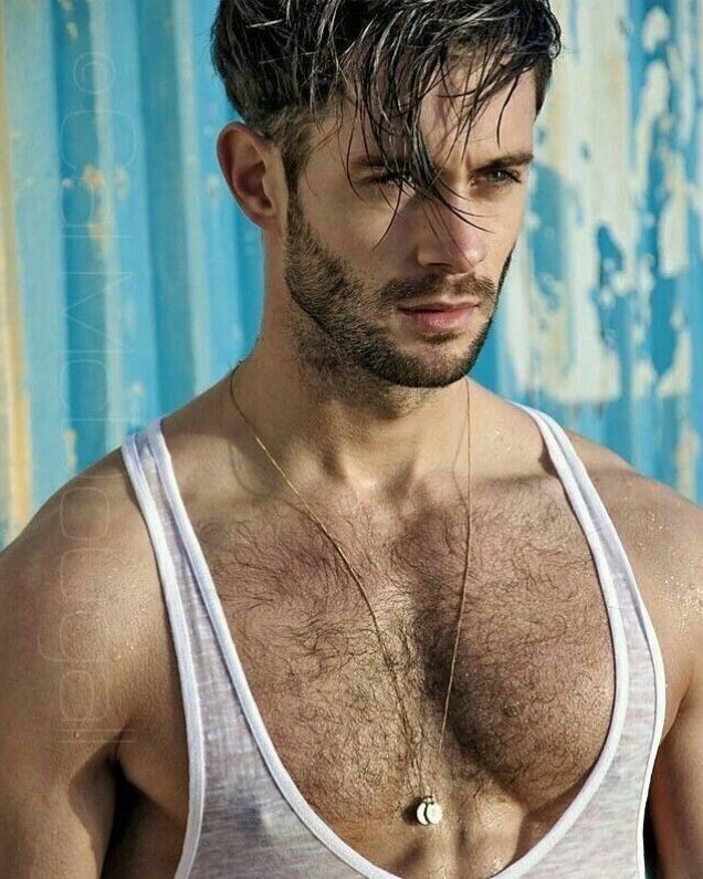 Male Model, Good Looking, Beautiful Man, Guy, Handsome, Hot, Sexy, Eye Candy, Beard, Muscle, Hunk, Hairy Chest 男性モデル