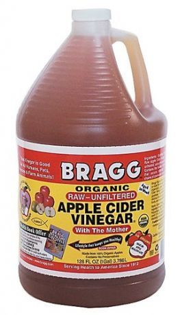 This is a good natural home remedy for Eczema. I took a cup of Bragg's ACV in a tub full of warm water and soaked myself for 10-15 mins. SO MUCH DIFFERENCE!! :)