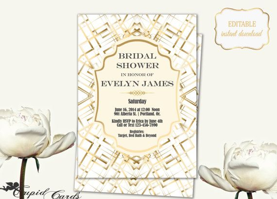 21 best Bridal Shower Cards images on Pinterest Bridal parties - bridal shower invitation templates