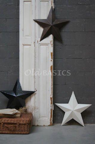 Metalen ster 80115 - Decoratieve metalen sterren. Met een doorsnede van 60 centimeter. Leuk om op te hangen of neer te leggen! Verkrijgbaar in de kleuren wit, zwart en roest. Bij online bestellingen s.v.p. aangeven welke kleur u wilt!