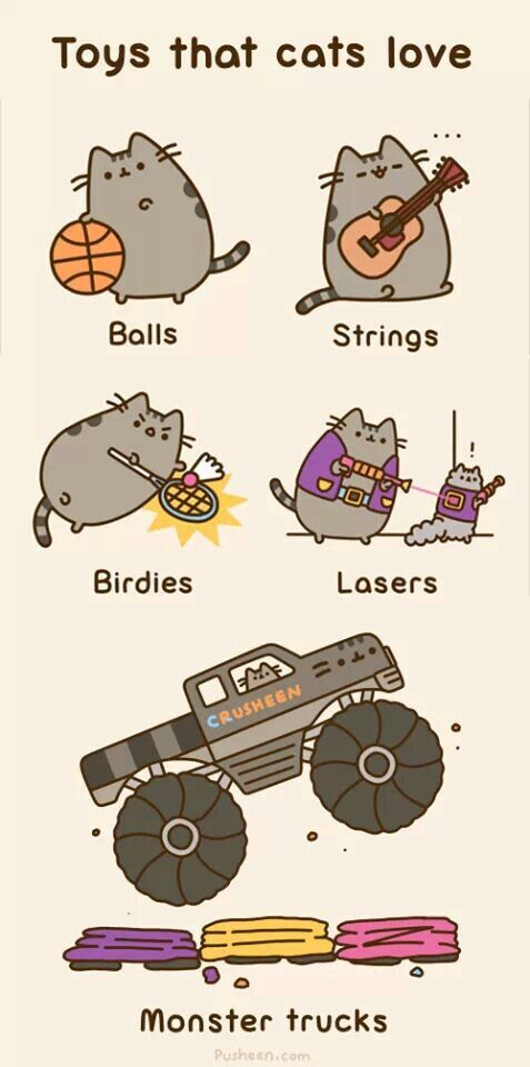 Maybe I should get a monster truck for my cat! It wouldn't be for me, honest!