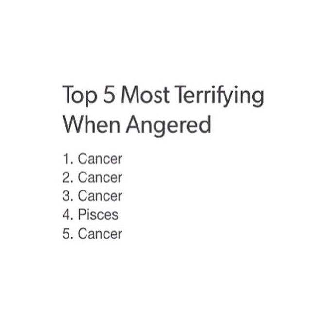 Cancer men are cry