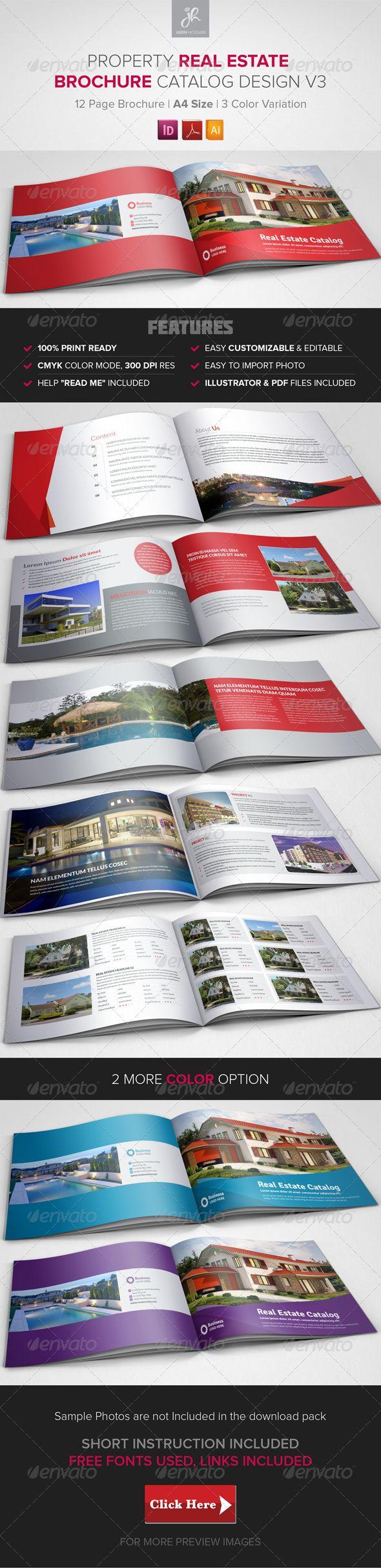 Property Sale/Real Estate Brochure Catalog v3