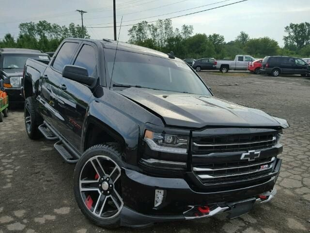 Salvage 2017 Chevrolet Silverado Z71 Pickup For Sale | Salvage Title