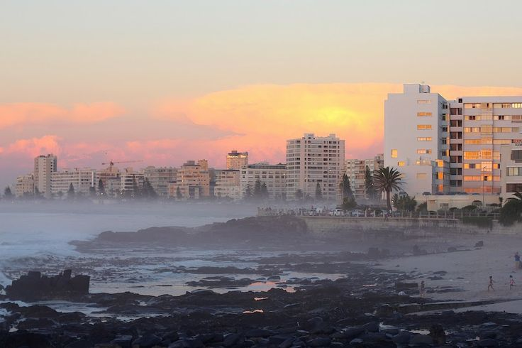 I call this home. Sea Point, Cape Town Photo by Bailey Schneider