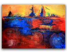 Moderne Kunst & abstrakte Malerei online kaufen ✓ Original Bilder und Gemälde direkt vom Künstler ✓ Acrylbilder Unikate ✓ Versand in EU + Schweiz