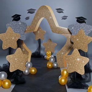 Sparkle Stars Props - Graduation Decoration and Themes - #decoration #graduation #Props #sparkle #stars