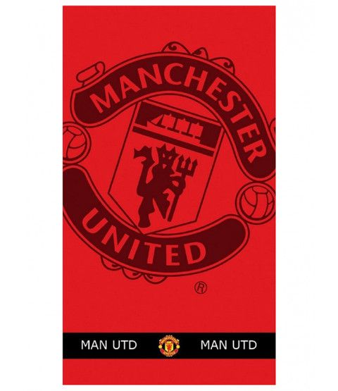 This Manchester United FC Large Towel is ideal for the beach, pool or home. Free UK delivery available.