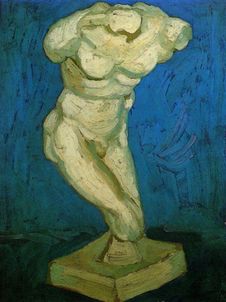 Картина Ван Гога Мужской торс. Статуэтка 1886