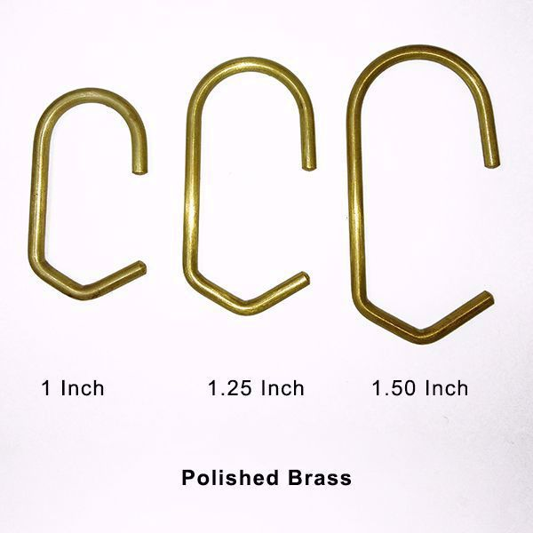 Brass Shower Curtain Rings Set Of 12 Elegant Shower Curtains