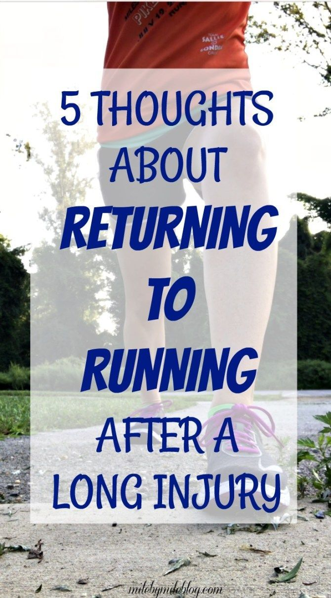 How To Get Back To Running After Knee Injury