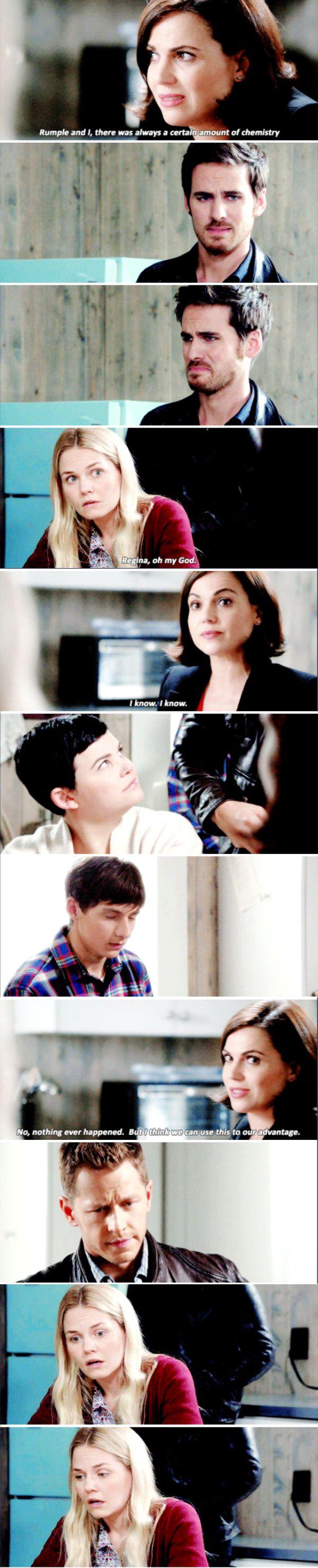 """Regina, Killian, Emma, Snow White, David and Henry - 6 * 7 """"Heartless"""""""