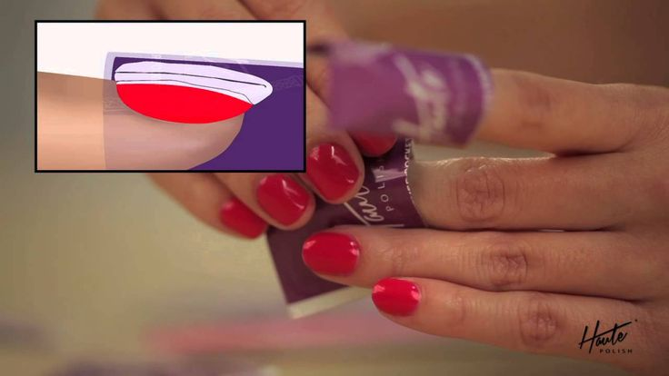 Haute Polish How-to Removal Process