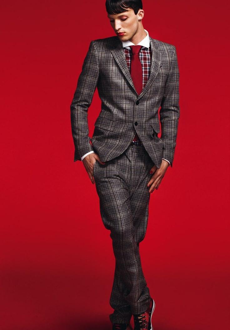 13 best Tartan suits images on Pinterest | Tartan suit, Asparagus ...