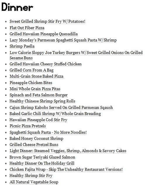 Healthy dinner menu for eating drinking pinterest for What do you eat on thanksgiving list