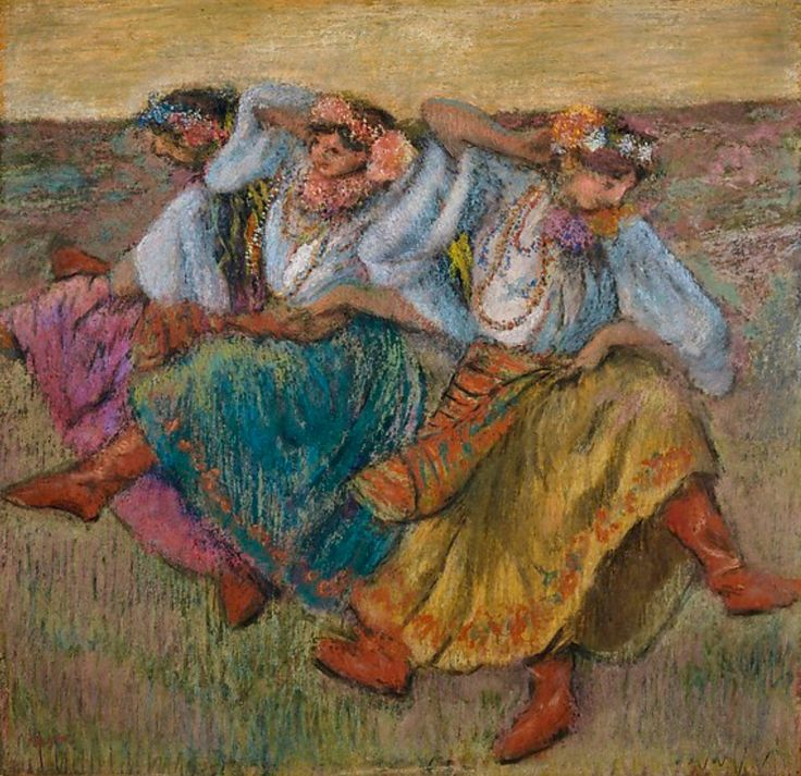"""Russian Dancers"" 1899 Edgar Degas French"