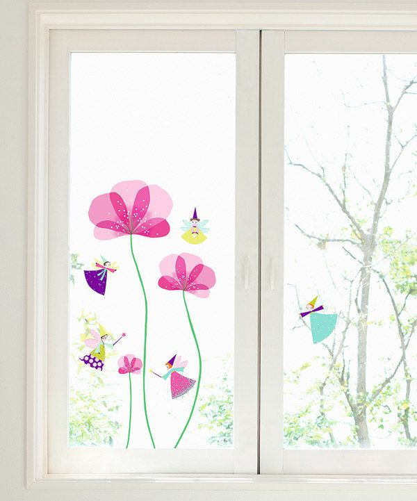 Little Fairy Window Cling Set by Nouvelles Images #zulilyfinds