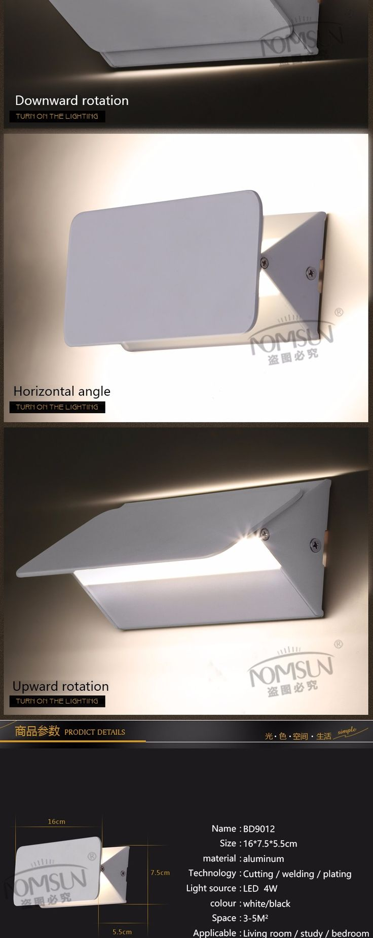 Aliexpress.com: Покупка современной алюминиевой стены спальни привело лампы гостиной декора стен ванной комнаты светильник настенный светильник Abajur зеркальный светильник водить алюминия Настенный светильник освещения nomsun надежных поставщиков в Аль-покупка путей магазин