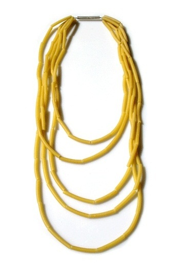 Christophe MARGUIER - fête des mères - le collier de nouilles revisité (PASTA necklace !)