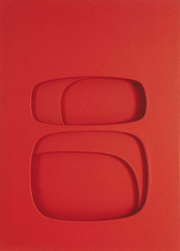 Paolo Scheggi, Essere, 1963, Private collection. Courtesy Galleria d'Arte Niccoli