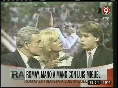 La visión de Romay al traer a un joven Luis Miguel
