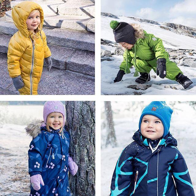 Reima winter overalls for kids