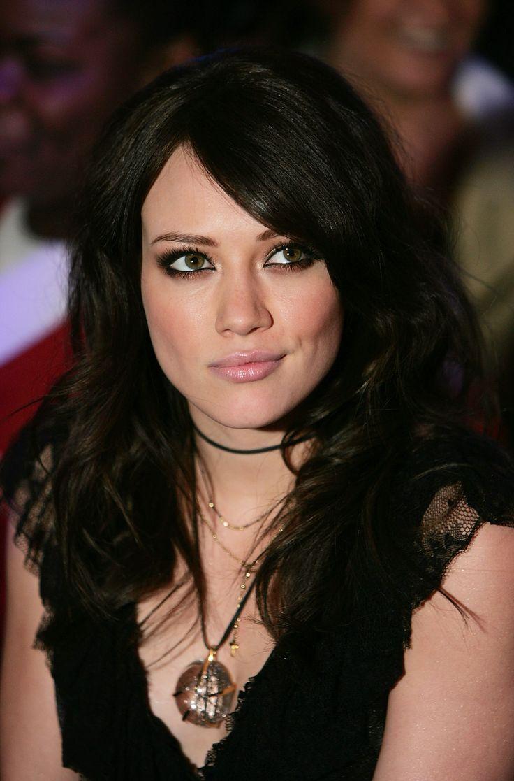 Hilary duff dark brown hair color brunette natural hair colors hillary duff hair the - Hilary duff with dark hair ...