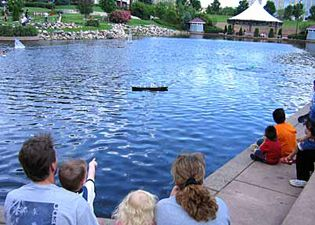 From June through August, free cultural performances are held outdoors at the Maetzold Amphitheater at Centennial Lakes Park. Movies in the Park are shown at sunset on Thursday evenings throughout the summer.