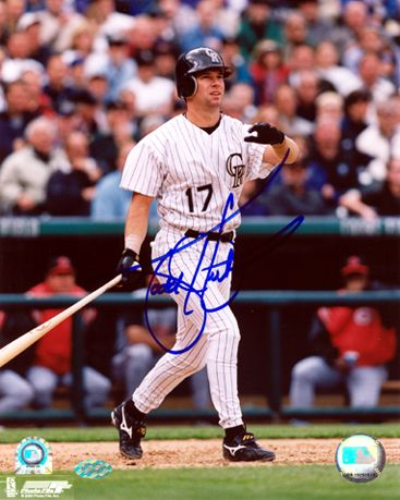 Todd Helton Autographed 8x10 Photo, Colorado Rockies Baseball Poster $90.00
