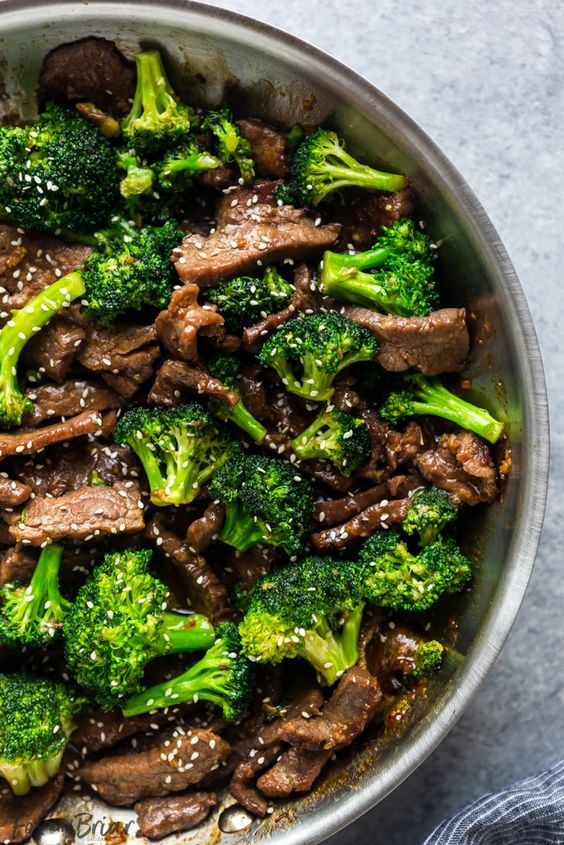 This Beef and Broccoli is better than takeout! Make this easy Beef and Broccol…