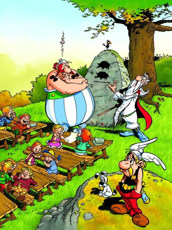Puzzle Astérix - Obélix l'écolier - Puzzles bande dessinée