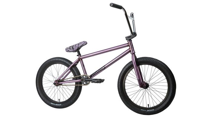 Sunday Bikes - 2017 Complete Bikes  VIEW: http://bmxunion.com/daily/sunday-bikes-2017-complete-bmx-bikes/  #BMX #bike #bicycle #style #purple #2017 #design