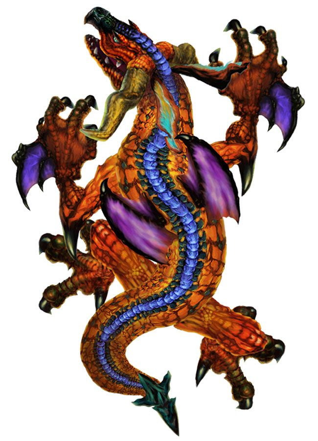 Dragon from GrimGrimoire