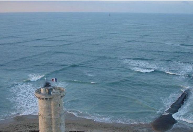 Wow, Gelombang Laut Pantai Ini Berbentuk Kotak, Kok Bisa