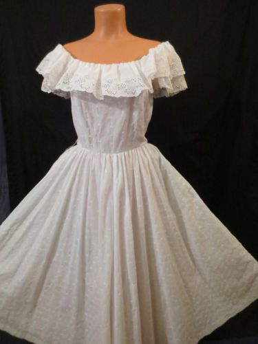 All can vintage peasant dress