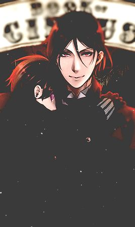 Sebastian and Ciel | Kuroshitsuji - Black Butler #Anime #Manga
