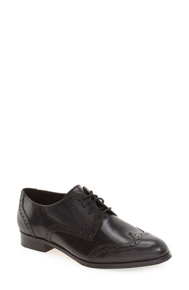 Free shipping and returns on Cole Haan Grand.OS Oxford (Women) at  Nordstrom.com. Borrowed-from-the-boys brouguing looks fresh and pretty on a  wingtip oxford ...